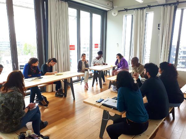 L'atelier Storytelling animé par Nadia Henni-Moulaï et David Cadasse